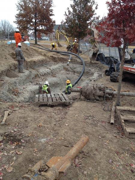 Underground Utility Construction Arkansas