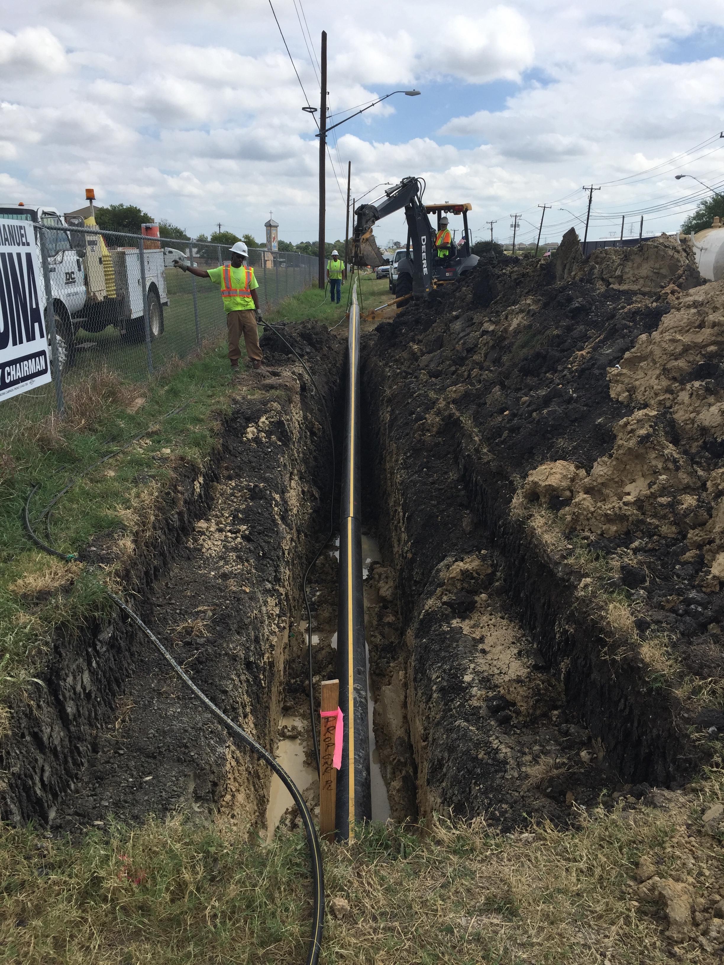 Boring Contractors Dirt Bores   Right of Way Long Bores