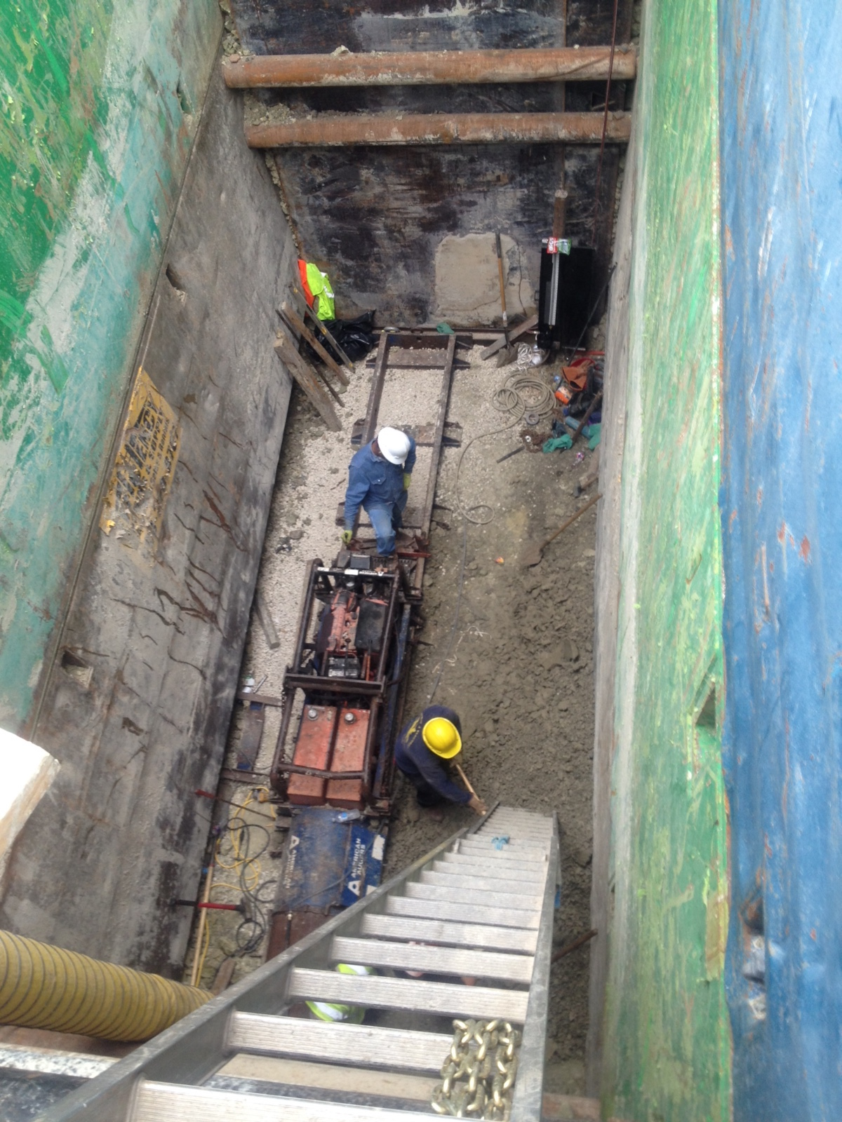 Boring Contractors Project Gallery | Bore Pit 30 Deep