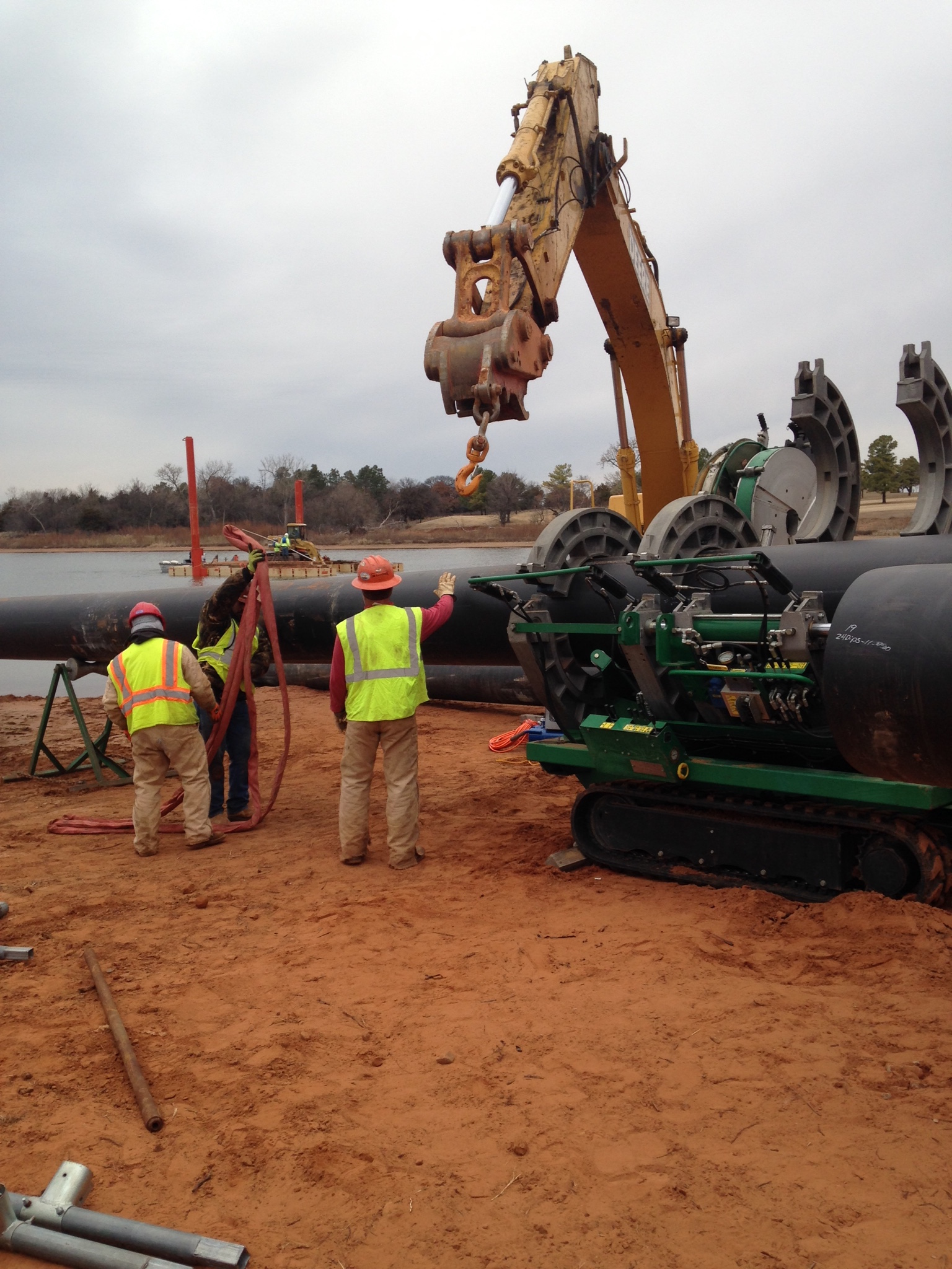 Boring Contractors Project Gallery | Corps of Engineers Directional Water Bore