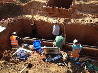 Boring Contractors Underground Construction | Underground Utility Construction Crew