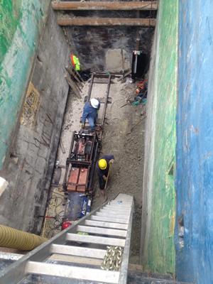 Boring Contractors Underground Construction | Underground Utility Construction Pit