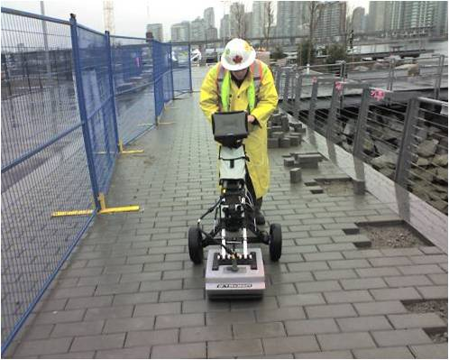 Boring Contractors Utility Locating Services | Ground Penetrating Radar Utility Line Location