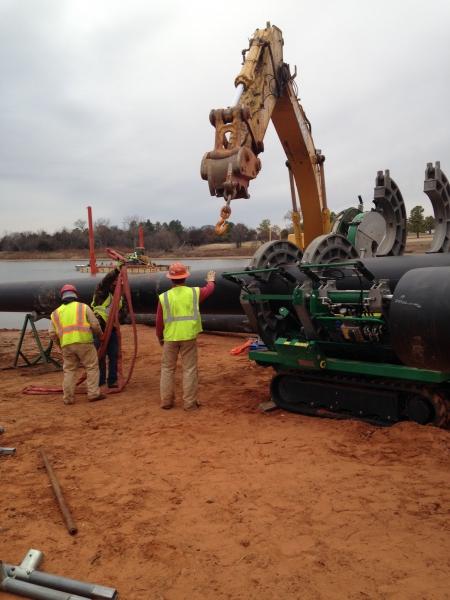 Underwater Utility Directional Bore Montgomery County, TX